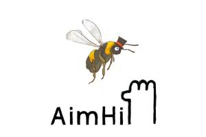 Aim Hi Logo Bee